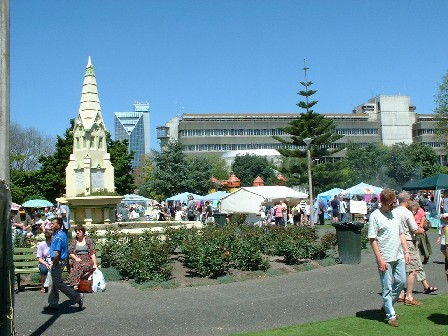 A Market Day in the The Square, Palmerston North, Manawatu, New Zealand - 28 October 2000