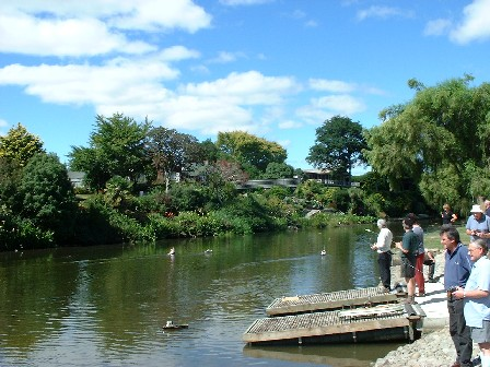 Radio Controlled Boats, Centennial Lagoon, Palmerston North, Manawatu, New Zealand - 11 March 2001